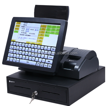 Touch Screen Cash Register In Pos System Cash Register