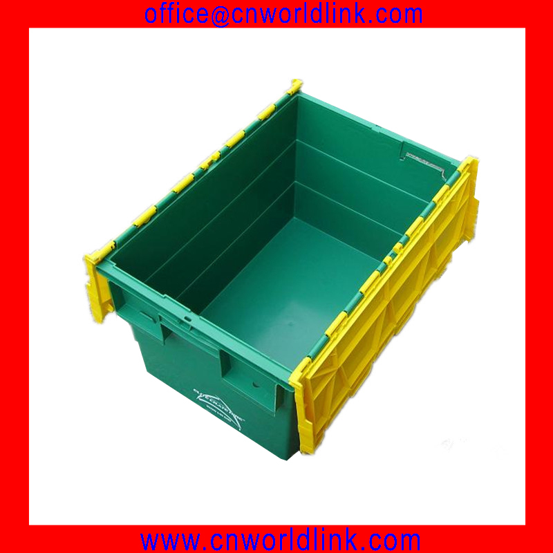 Super Quality 70L Transparent Clear Moving Hard PP Storage Bin With Lid