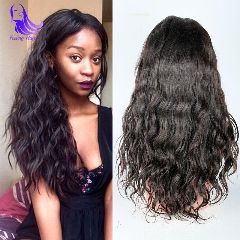 2e98ba78c ... Фотография Brazilian Full Lace Human Hair Wigs For Black Women Glueless  Front Lace Wigs Wet Wavy