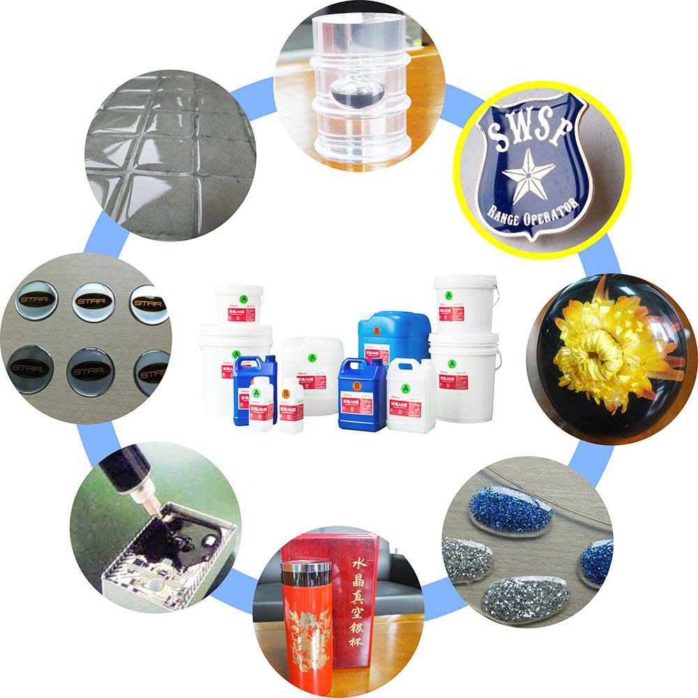 Double Components Adhesives Liquid epoxy resin for Flooring Coating