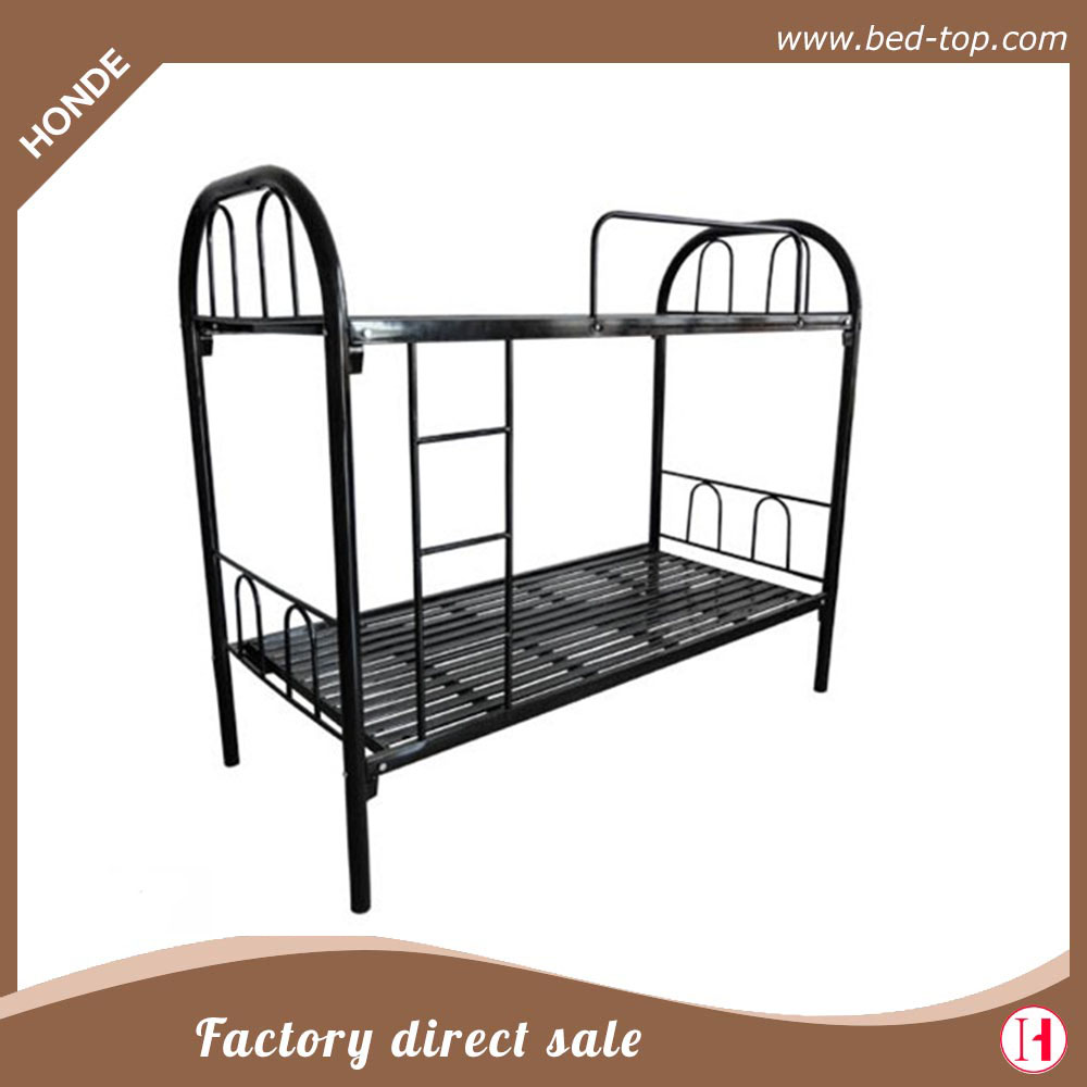 China wholesale cheap labour Adult metal double bunk bed for Dubai