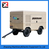 doosan air compressor/Commins diesel engine Portable 10 bar Screw Air Compressor for drilling rig