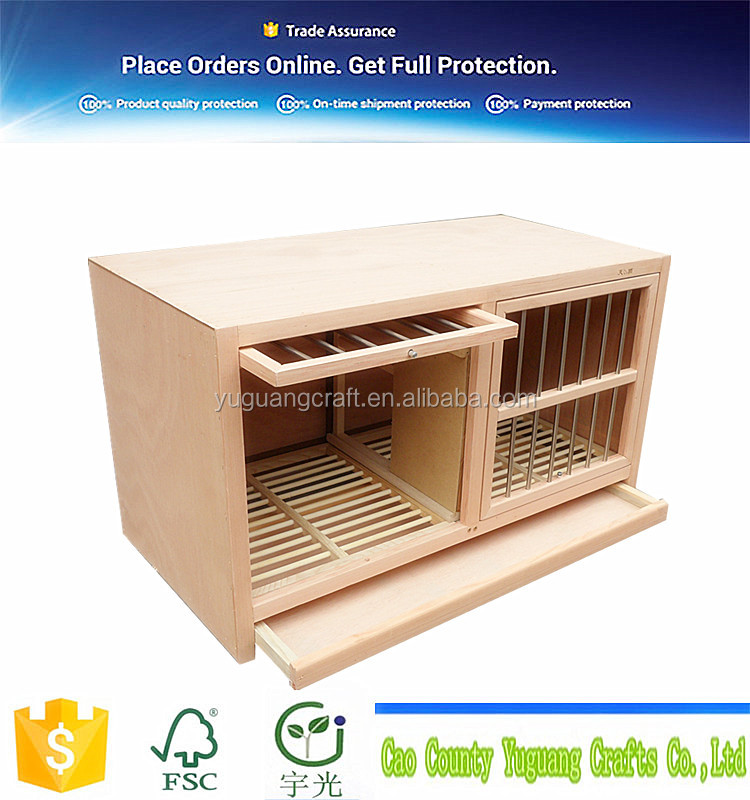supply wooden pet animal nest for rabit