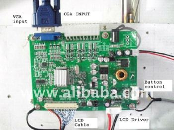 Arcade Game Cga/vga To Lcd Converter (or With Lcd Panel) - Buy Cga Vga Lcd  Arcade Game Product on Alibaba com