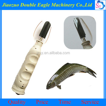 Rechargeable portable fish scaler fish cleaning equipment for Fish cleaning gloves