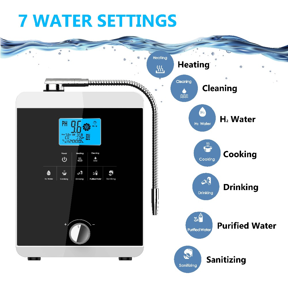 EHM Ionizer alkaline ionised water best supplier on sale-7