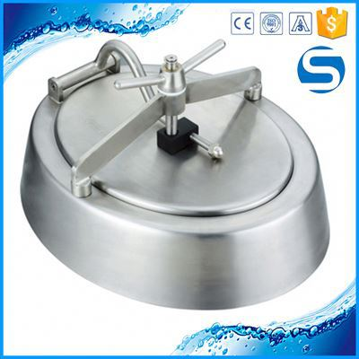 Customized Sanitary 304/316 Sanitary Tanks Manholes Grade Manhole Cover