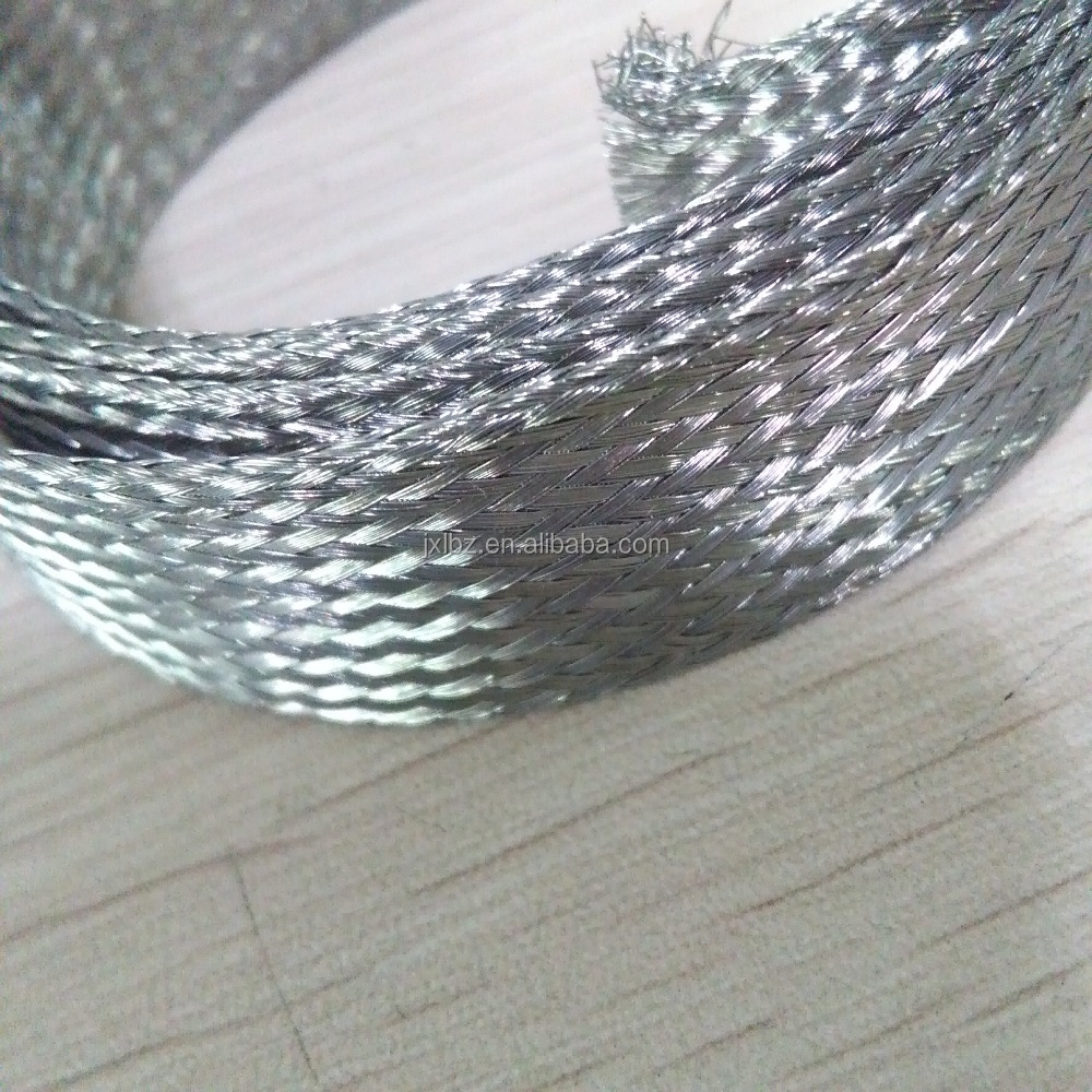 Tinned Copper Braided Sleeving, Tinned Copper Braided Sleeving ...