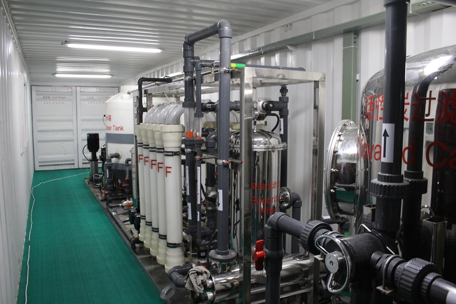 Container Ro Water Treatment System Equipment Machine In