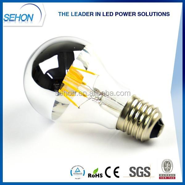 Alibaba Half Mirror A19 Led Bulbs Dimmable Filament A19 E27 Led ...