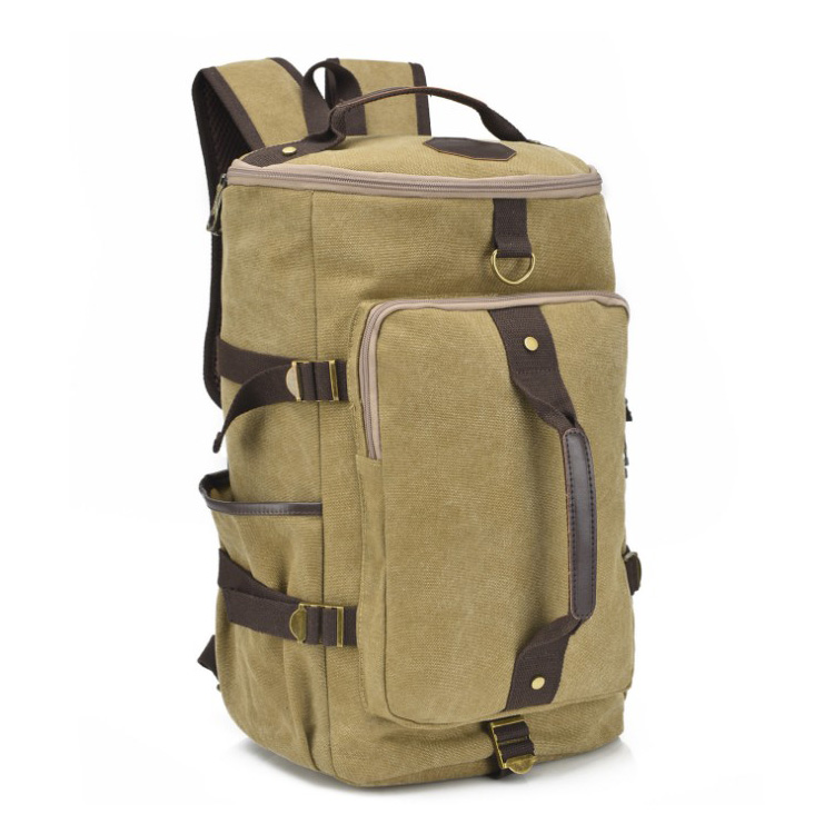 Travel Backpack Canvas Backpack Washed Canvas Sport Backpack