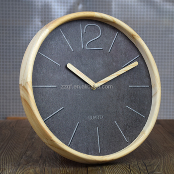 Unique Wall Clock Without Glass Exclusive Wooden Wall Clock For Gift ...