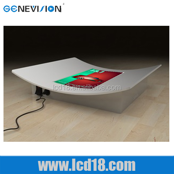 10.4 inch metal coin table <strong>retail</strong> display tray china ad player china lcd displayer digital cashier tray