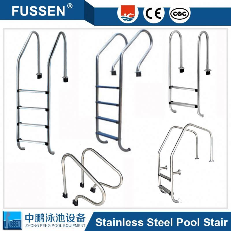 New design stainless steel Stardard Pool Ladder for above ground swimming pool