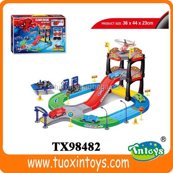 kids toy car garage kids car parking garage toy