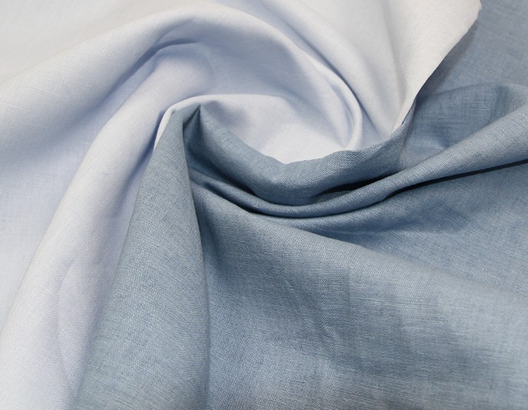 wholesale linen/cotton blended solid fabric 15x15/66x55 low bulk price cotton linen fabric roll