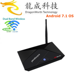 TII Z8350 4G 32G win 10 satellite receiver software mini pc with full hd 4k android tv box with high quality mini pc
