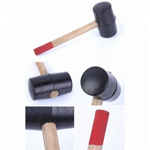 Wood Handle Rubber Mallet
