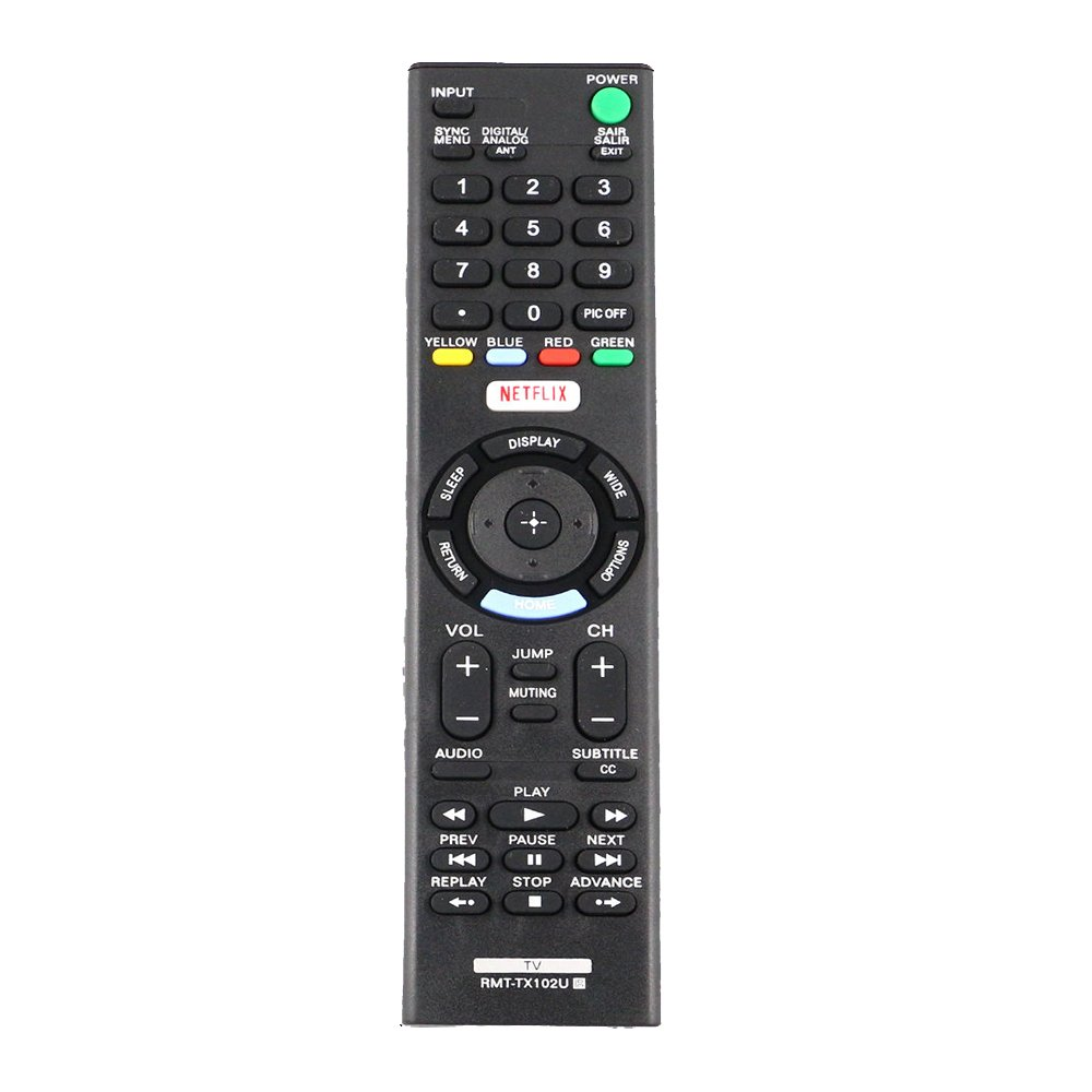 Replace RMT-TX102U Remote Control for Sony KDL-32W600D KDL-40W650D KDL-48W650D KDL32W600D KDL40W650D KDL48W650D