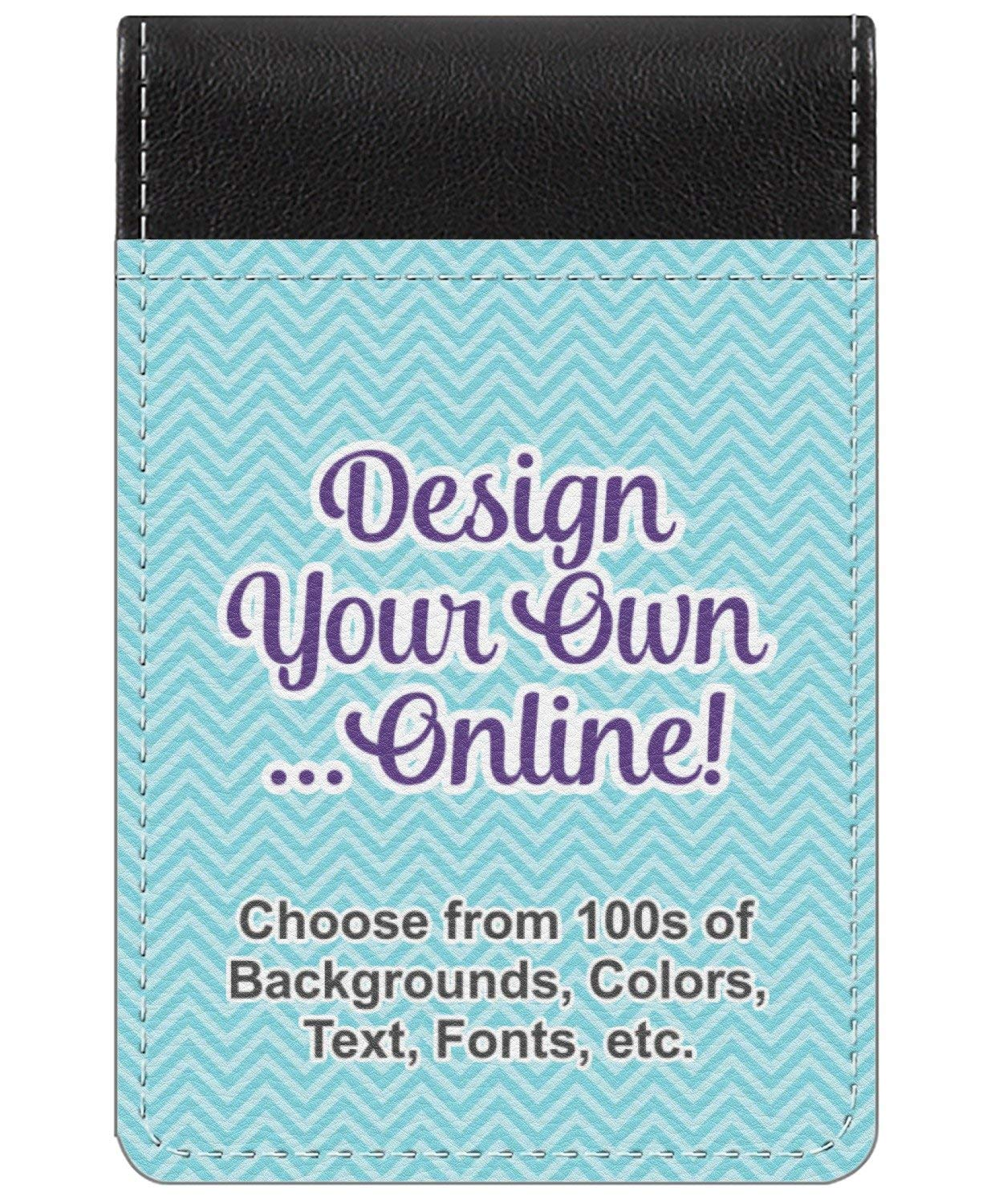 Design Your Own Genuine Leather Small Memo Pad (Personalized)
