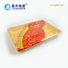 Wholesale New Japanese style disposable Plastic blister Sushi tray with Clear Lid