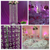 "28"" tall Large table top crystal chandelier flower stands centerpieces for weddings"