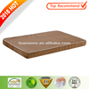 Large Bed For Cute Dog Waterproof Orthopedic Memory Foam Pad Pet Dog Bed With External Brown Color Cover
