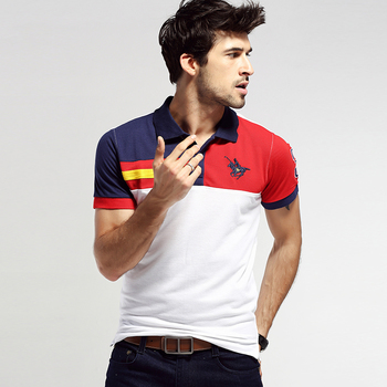 Custom Short Sleeve Mens Cotton Wholesale Polo Shirt Design