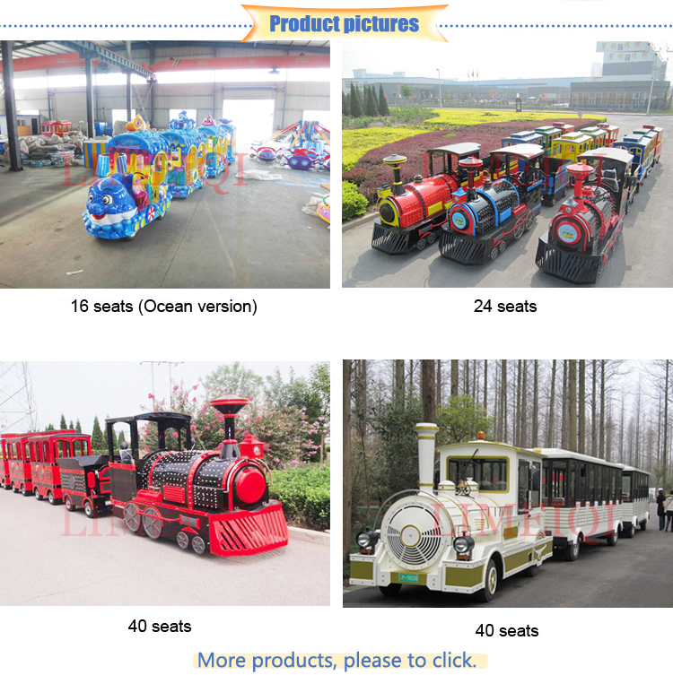 Trade assurance! China supplier amusement rides trackless outdoor mini kids train