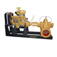 Horizontal Multistage price of diesel water pump set, diesel engine water pump