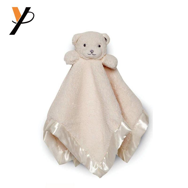 Baby Comforter Blanket Plush Bear Blanket With Animal Heads Buy