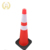 Factory price safety road flexible warning reflective pvc traffic cone