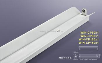 China 120m T8 Led Shop Light Fixtures No Ballast No Starter
