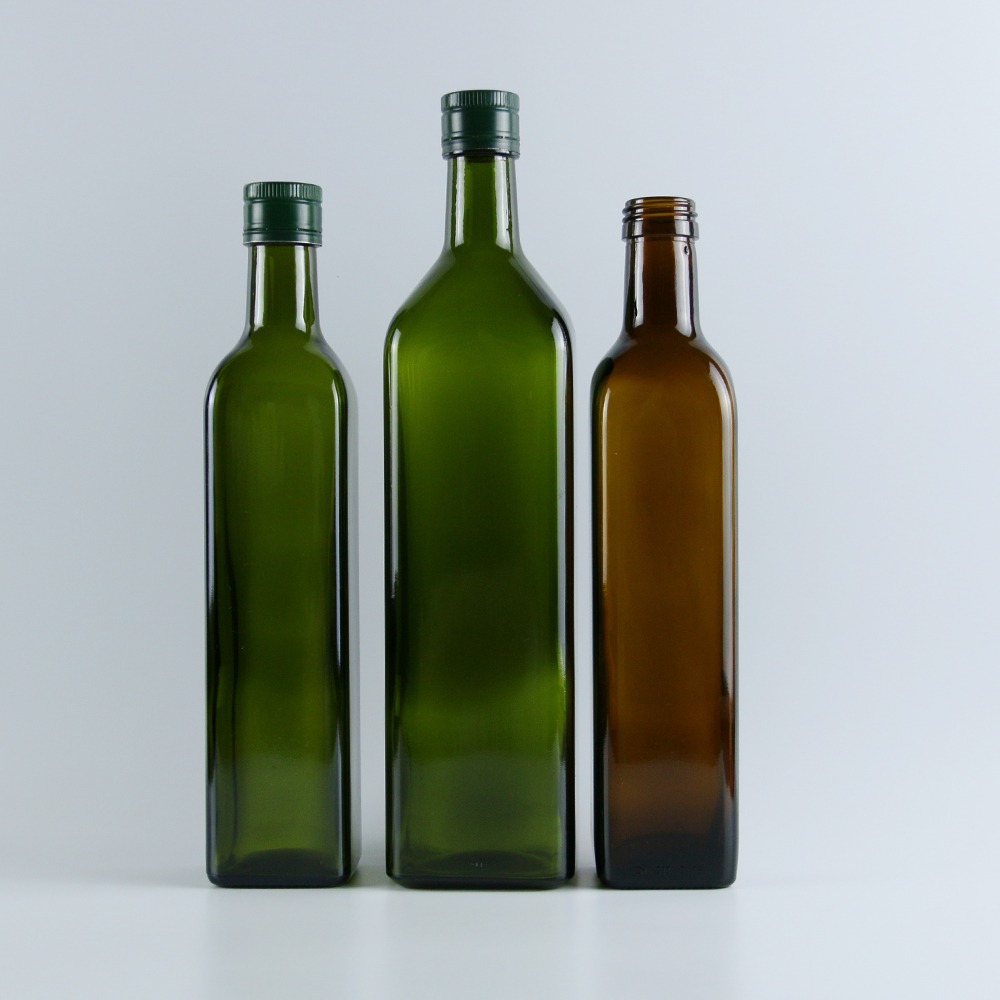 250ml 500ml 750ml 1L Fancy Cooking oil use Olive Oil Glass Bottle Wholesale Glass wine bottle