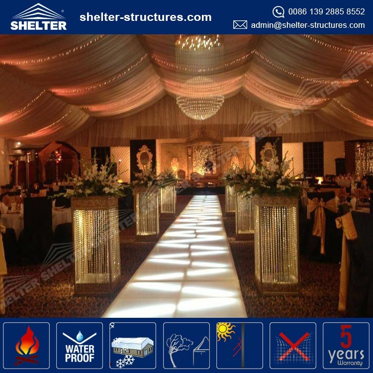 Commercial Outdoor Large Party Gathering Marquees Tents with A Shaped Roof for Sale