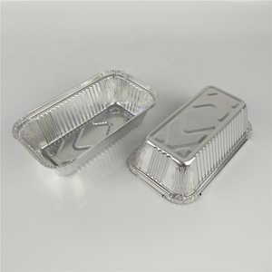 550ml disposable gold silver aluminum foil serving tray