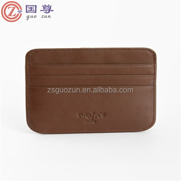 Promotion Custom Smart business card holder or name card holder Wallet Credit Card Holder Wallets