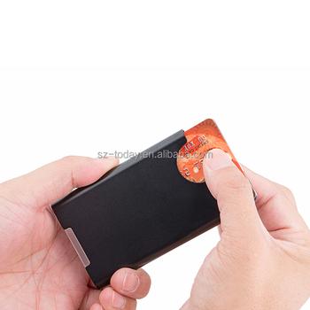 best rfid blocking credit card holder stainless steel card holder case for travel and work - Best Credit Card Holder