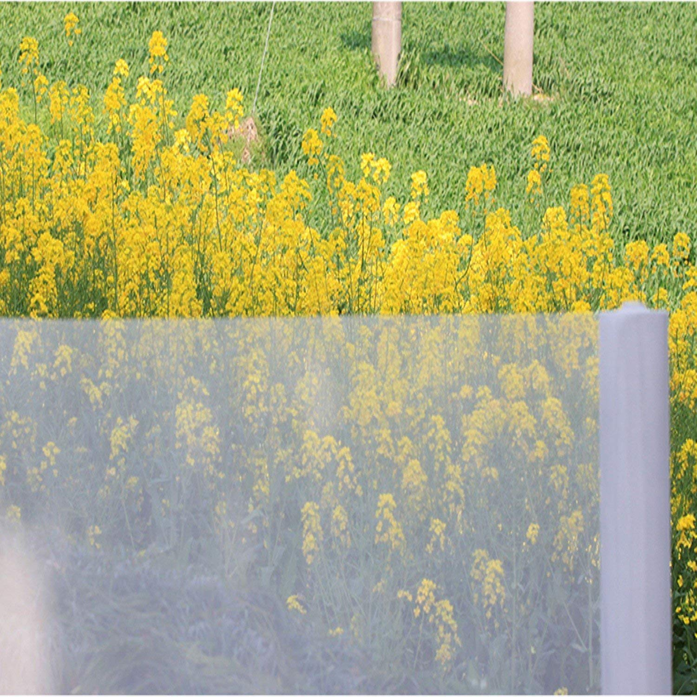 White Plastic Mesh Gardening Mosquito Net Flower Insect Nets The Screen Garden