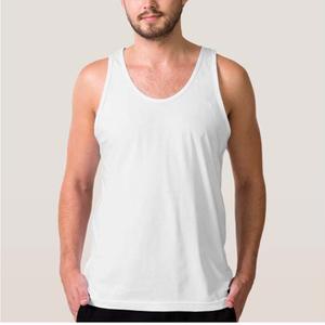 345f4c59d2f429 Fashion unisex jersey wholesale plain white mens blank tank top