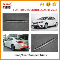 Toyota Corolla Front Bumper Chrome Rear Bumper Gate For Corolla ...