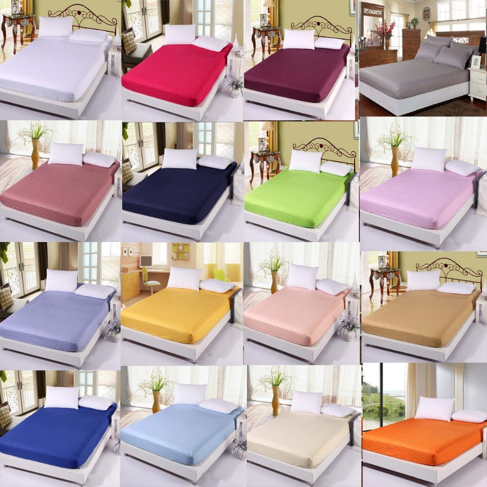 bed sheet mattress cover mattress protector fitted sheet cotton bed sheets twin full queen. Black Bedroom Furniture Sets. Home Design Ideas