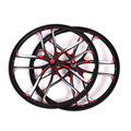 MTB 5 spokes mountain bike wheels magnesium alloy 26 speeds wheels 26 27 5 inches Mountain