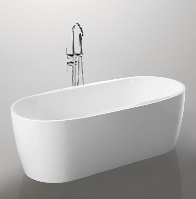 EGG LINE 1500mm cUPC certified bath, 100% acrylic soaking bathtub