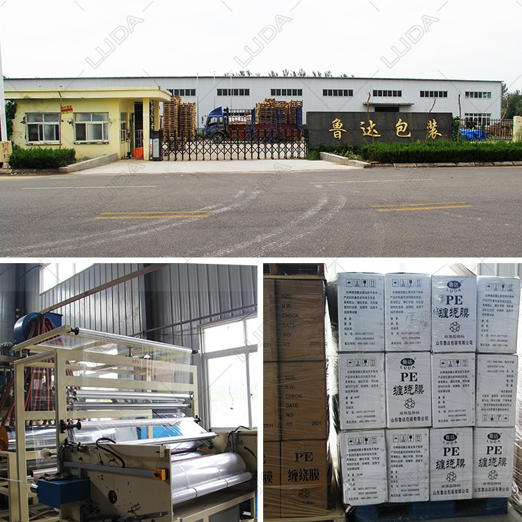 PE Grass Bale Silage Stretch Wrap Film PE Hay white Silage Wrap Stretch Film for baler