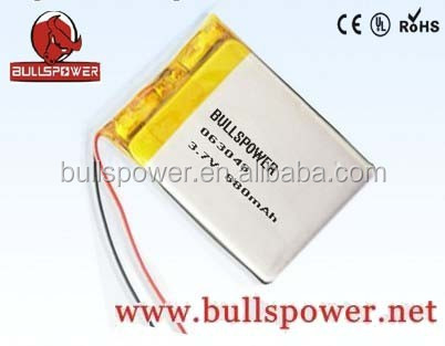 Small 3.7v 880mah lithium polymer/lipo battery for samsung s3