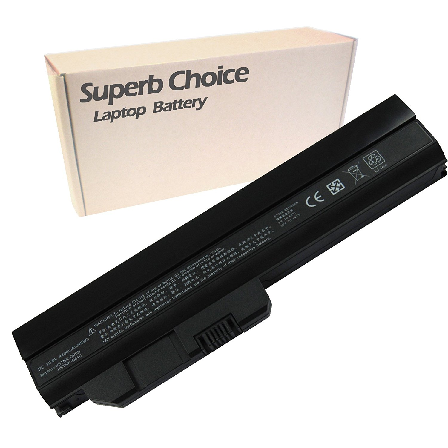 HP Mini 311-1037NR Laptop Battery - Premium Superb Choice® 6-cell Li-ion battery
