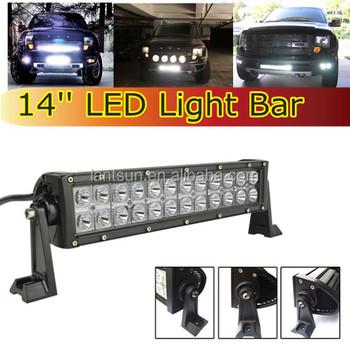 Super bright led lighting bar for trucks 14 light bar with deutsh super bright led lighting bar for trucks 14quot light bar with deutsh connector 72w spot aloadofball Gallery