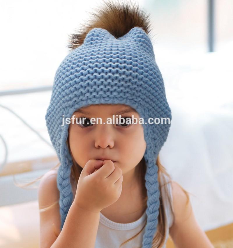 продукт милый мода вязать детские шляпы для детей детей зима оптовая