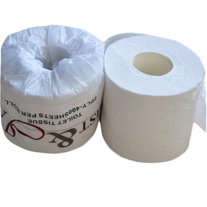 TP400R Recycled Pulp Standard Roll Size Custom Printed Toilet Paper